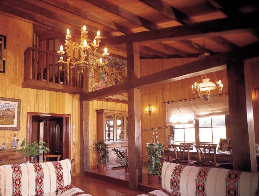 Casas de madera tarimas de extremadura - Casas de madera interiores ...
